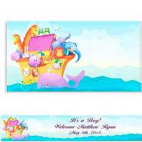Two By Two Animals Custom Banner 6ft