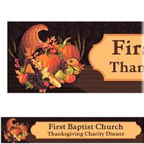 November Harvest Custom Banner