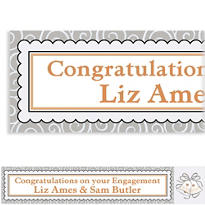 Platinum Proposal Custom Wedding Banner 6ft