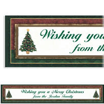 Joyful Gathering Custom Christmas Banner