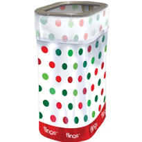 Christmas Party Flings® Trash Bin 13 gallon