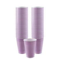 Lavender Plastic Cups 12oz 50ct