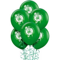 Boston Celtics Latex Balloon 12in 6ct