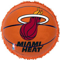 Miami Heat Pinata 18in