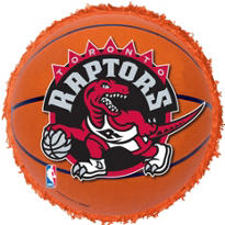 Toronto Raptors Pinata 18in