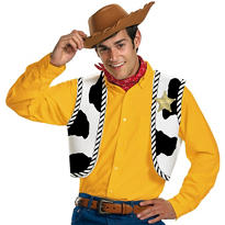 Adult Woody Costume Kit - Toy Story