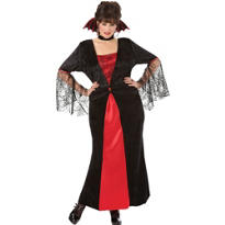 Adult Countess Vampiretta Vampire Costume Plus Size
