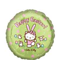 Foil Hello Kitty Easter Balloon 18in