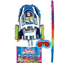 Pull String Buzz Lightyear Pinata Kit