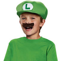 Super Mario Brothers Luigi Costume Kit