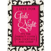 Girls Night Purse Notepad