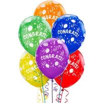 Congrats Balloons 6ct