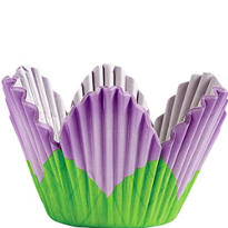 Lavender Petal Baking Cups 24ct
