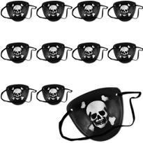 Skull & Crossbones Eye Patches 48ct