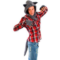 Midnight Wolf Costume Kit