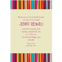 Stripe Style Custom Invitation