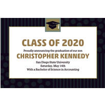 Custom Class Pride Graduation Announcements