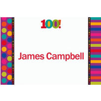 Birthday Dots & Stripes 100 Custom Thank You Note