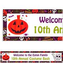 Spooktacular Halloween Custom Banner