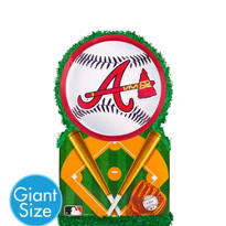 Giant Atlanta Braves Pinata 22in x 22in
