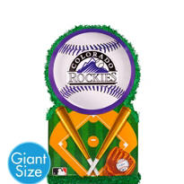 Giant Colorado Rockies Pinata 22in x 22in