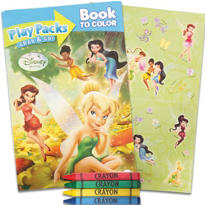 Tinker Bell and The Fairies Activity Book
