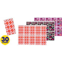 Trendy Valentines Day Assorted Notepads 30ct<span class=messagesale><br><b>20¢ per piece!</b></br></span>
