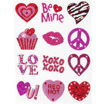Valentines Day Body Jewelry 12ct