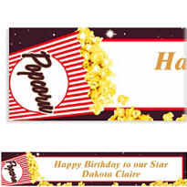 Movie Night Custom Banner 6ft