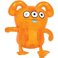 Uglydoll Peaco Orange Windup Toy