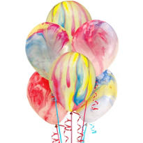Marble Balloons 72ct
