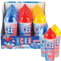 Icee Spray Candy Dispensers 12ct