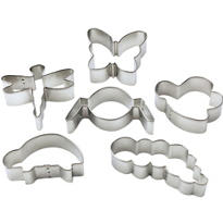 Metal Bug Buddies Cookie Cutter Set 6ct