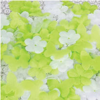 Honeydew Flowers & Butterflies Fabric Confetti 300pc