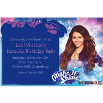 Victorious Custom Invitation