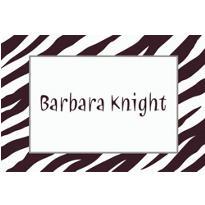 Zebra Custom Thank You Note