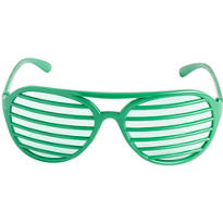 Green Slotted Shades