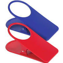 Red and Blue Clip-On Bottle Holders 2ct