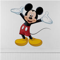 Mickey Mouse Wall Decals 36 1/2in
