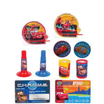Cars Favor Pack 100pc