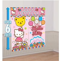 Hello Kitty Scene Setters 5pc