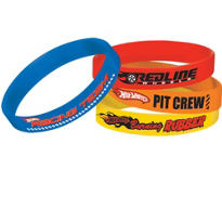 Hot Wheels Wristbands 4ct