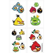 Angry Birds Tattoos 1 Sheet