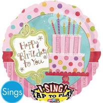 Happy Birthday Balloon - Singing Sweet Stuff