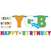 Add an Age Boy Birthday Banner 10ft