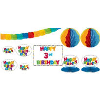 Add an Age Boy Birthday Decorating Kit 12pc