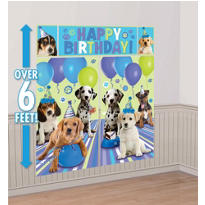 Party Pups Scene Setters 5pc