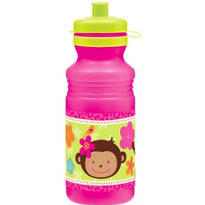 Monkey Love Water Bottle 18oz