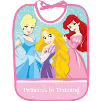 Disney Princess 1st Birthday Bib