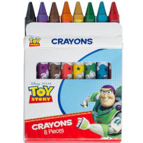Toy Story Crayons 8ct